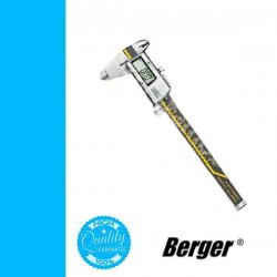BERGER digitális tolómérő, mélységmérővel 150/0,01mm