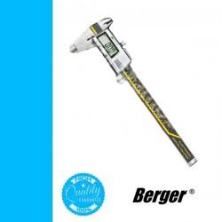 BERGER digitális tolómérő, mélységmérővel 300/0,01mm