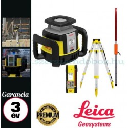 Leica Rugby CLH forgólézer + CLX 200 szoftver + COMBO kombinált vevőegység és távirányító,állvánnyal,flexi léccel
