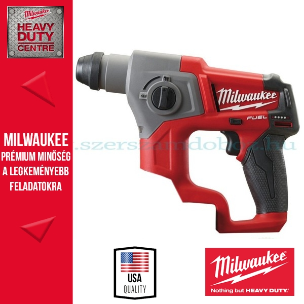 Milwaukee M12 CH-0 Akkus SDS-Plus fúrókalapács