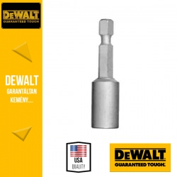 DEWALT Mágneses, hatszögű dugókulcs, 13,0, 50mm