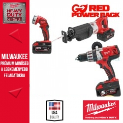 Milwaukee M28 Pack B-502B Erőcsomag