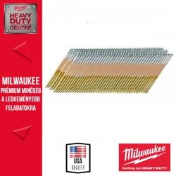 Milwaukee D fejű galvanizált szeg, 7.4 × 2.8 / 63mm  4000db