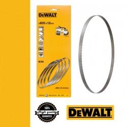 DEWALT DT8462-QZ Szalagfűrészlap Vezeték nélküli szalagfűrészhez 12 x 835 mm - 4 db/csomag