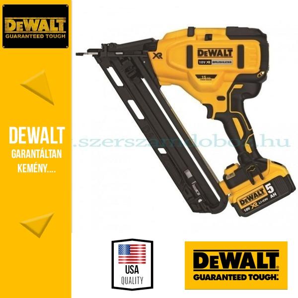 DeWalt DCN650P2-QW 18V Befejezőszegező