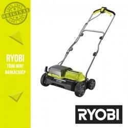 RYOBI RY18SFX35A-240 akkus szénkefe nélküli gyepszellőztető, 2 x 4.0 Ah Li-ion akkumulátor, töltő