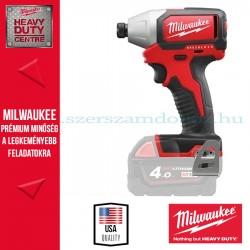 """Milwaukee M18 BLID-0 Akkumulátoros ütvecsavarbehajtó 1/4"""""""