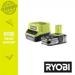 RYOBI RC18120-125 akkumulátor + töltő Li-Ion 18V 2,5Ah
