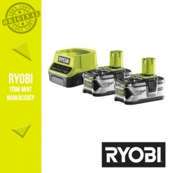 RYOBI RC18120-240 akkumulátor szett - Li-Ion töltő + 2x18V 4,0Ah
