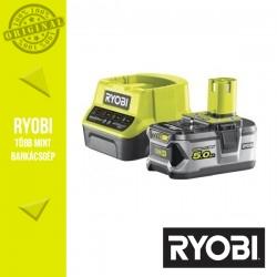 RYOBI RC18120-150 akkumulátor szett - töltő + 1x18V 5,0Ah