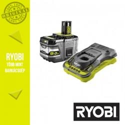RYOBI RC18150-190 akkumulátor szett, Li-Ion töltő + 1x18V 9,0Ah