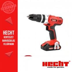 HECHT 1278 Akkumulátoros csavarbehajtó és ütvefúró, 2 akkumulátor, gyorstöltő