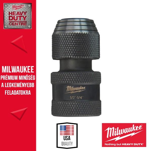 "Milwaukee Shockwave Adapter 1/2""-1/4"""