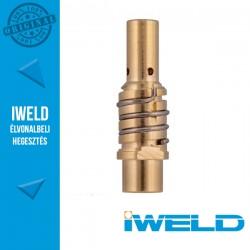 IWELD Közdarab IGrip MIG150 M8x1,0mm (bal) rugóval