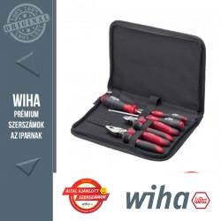 WIHA Industrial szerszámtáska csípőfogóval - 5 részes