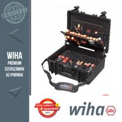 WIHA XL villanyszerelő szerszámkoffer - 80 részes