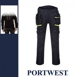 PORTWEST DX440 - DX4 Lengőzsebes nadrág - fekete