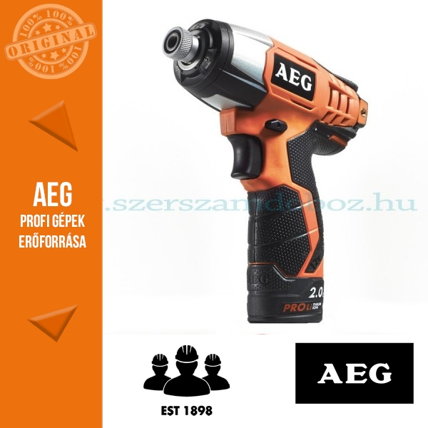 AEG BSS 12C LI-152C Akkus ütvecsavarbehajtó