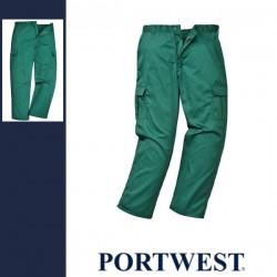 PORTWEST C701 - Combat nadrág - zöld