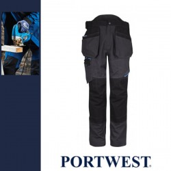 PORTWEST T702 - WX3 Holster nadrág - metál szürke