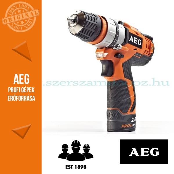 AEG BBS 12C2 Li-202B akkus fúrócsavarozó