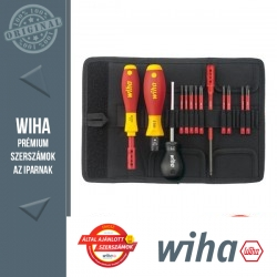 WIHA Slim Selection VDE nyomaték csavarhúzó készlet - 13 részes SL+PH+PZ 0,8-5,0 Nm