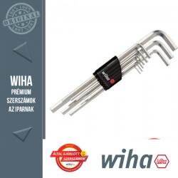 WIHA Compact hosszú imbuszkulcs készlet - 9 részes