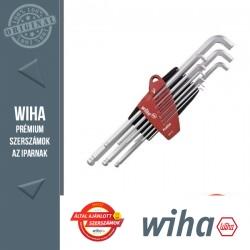 WIHA ProStar gömbvégű imbuszkulcs készlet hosszú-rövid szár - 9 részes