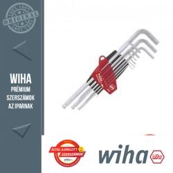 WIHA ProStar gömbvégű hosszú imbuszkulcs készlet - 9 részes
