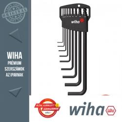 WIHA Classic gömbvégű imbuszkulcs készlet - 9 részes