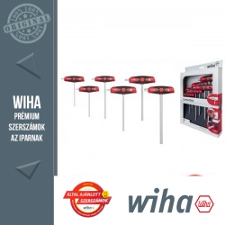 WIHA ComfortGrip T-nyelű imbuszkulcs készlet - 6 részes SW2,5-8,0