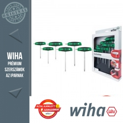 WIHA ComfortGrip T-nyelű TORX kulcs készlet - 6 részes T10-40