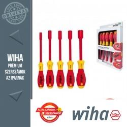WIHA SoftFinish electric VDE nyeles dugókulcs készlet - 5 részes 5,5-13