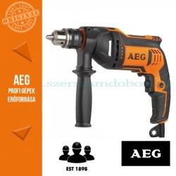 AEG SBE 750 RZ Ütvefúró fogaskoszorús tokmánnyal