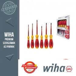 WIHA SoftFinish electric slimFix VDE csavarhúzó készlet - 6 részes SL+PH+SL/PZ
