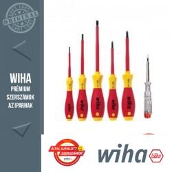 WIHA SoftFinish electric VDE csavarhúzó készlet - 5+1 részes SL+PH+fázisceruza