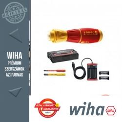 WIHA SpeedE II VDE akkus E-csavarhúzó készlet - 7 részes SL+SL/PZ