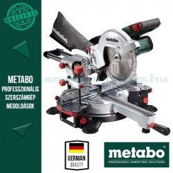 Metabo KGS 18 LTX 216 Gérfűrész (kihúzható) akkuval és töltővel