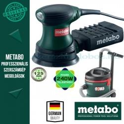 Metabo AS 20 Porszívó + FSX 200 Intec Excentercsiszoló