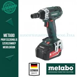 Metabo SSW 18 LTX BL 400 Akkus ütvecsavarbehajtó 2,6Ah