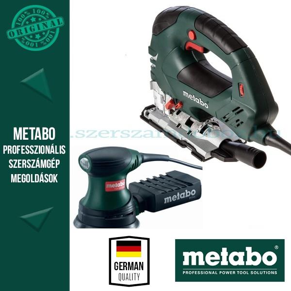 Metabo STEB 140 Szúrófűrész + FSX 200 Intec Excentercsiszoló
