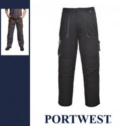 PORTWEST TX16 - Texo Contrast bélelt nadrág - fekete