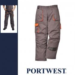 PORTWEST TX16 - Texo Contrast bélelt nadrág - szürke