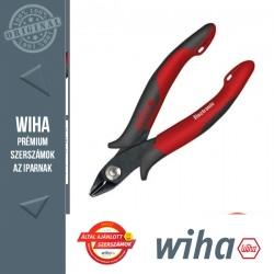 WIHA Electronic műszerész oldalcsípő fogó - 21° 138 mm, fazetta nélküli