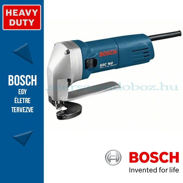 Bosch GSC 160 Professional Lemezvágó olló