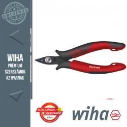 WIHA Electronic műszerész oldalcsípő fogó keskeny, rugós - 21° 128 mm