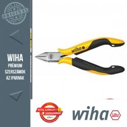 WIHA Professional ESD műszerész oldalcsípő fogó - 115 mm, fazetta nélküli