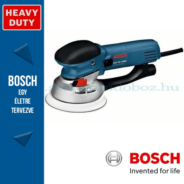 Bosch GEX 150 TURBO Professional Excentercsiszoló