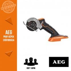 AEG BMMS18SBL-0 18 V szénkefe nélküli subkompakt multi daraboló - alapgép