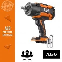 """AEG BSS18HTF12B6-0 6 fokozatú 1/2"""" ütvecsavarozó - alapgép -1550Nm"""
